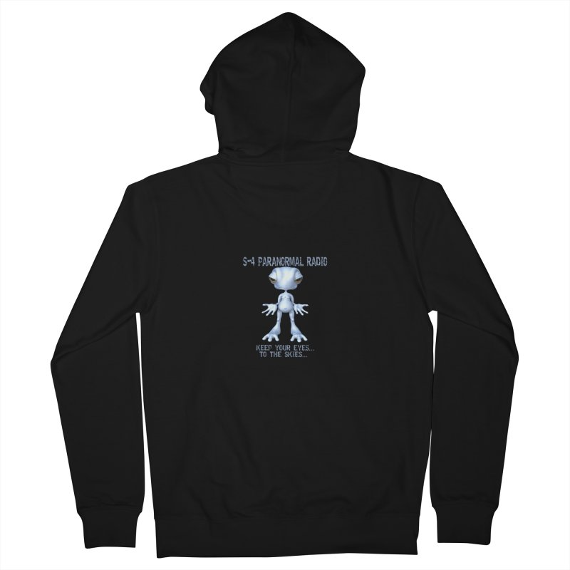 S-4 RADIO Men's Zip-Up Hoody by forestmoonparanormal's Artist Shop