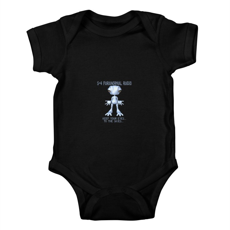 S-4 RADIO Kids Baby Bodysuit by forestmoonparanormal's Artist Shop