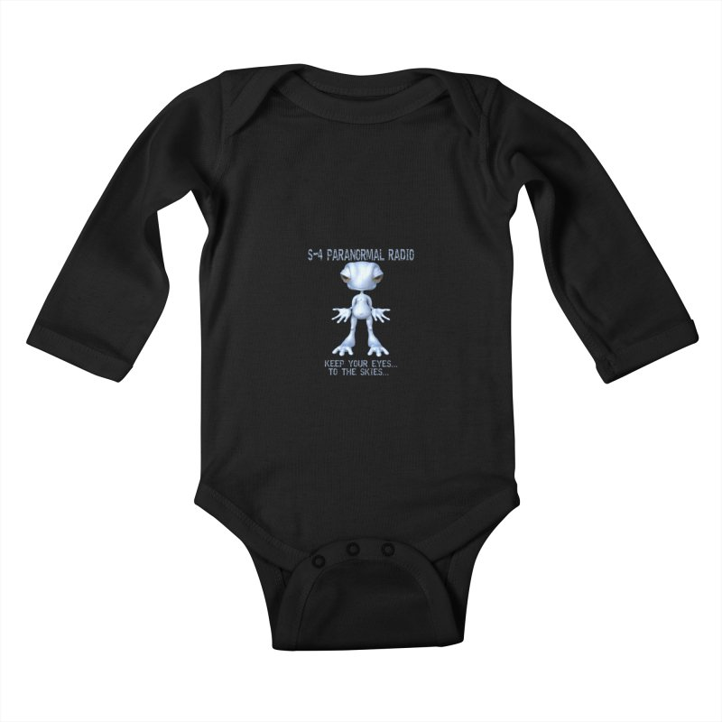 S-4 RADIO Kids Baby Longsleeve Bodysuit by forestmoonparanormal's Artist Shop