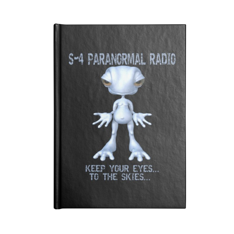 S-4 RADIO Accessories Notebook by forestmoonparanormal's Artist Shop