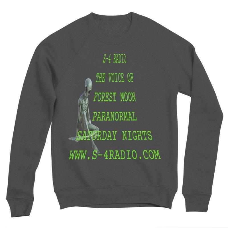 S-4 Radio Men's Sponge Fleece Sweatshirt by forestmoonparanormal's Artist Shop