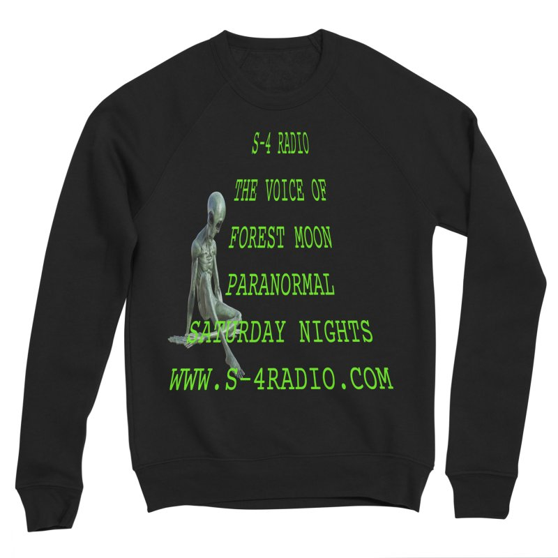 S-4 Radio Men's Sponge Fleece Sweatshirt by forestmoonparanormal's Artist Shop