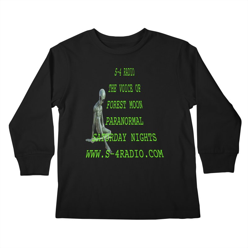 S-4 Radio Kids Longsleeve T-Shirt by forestmoonparanormal's Artist Shop