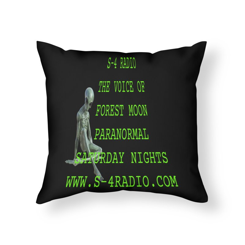 S-4 Radio Home Throw Pillow by forestmoonparanormal's Artist Shop
