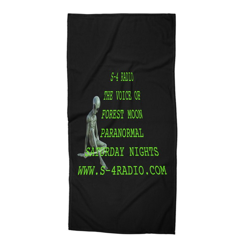 S-4 Radio Accessories Beach Towel by forestmoonparanormal's Artist Shop