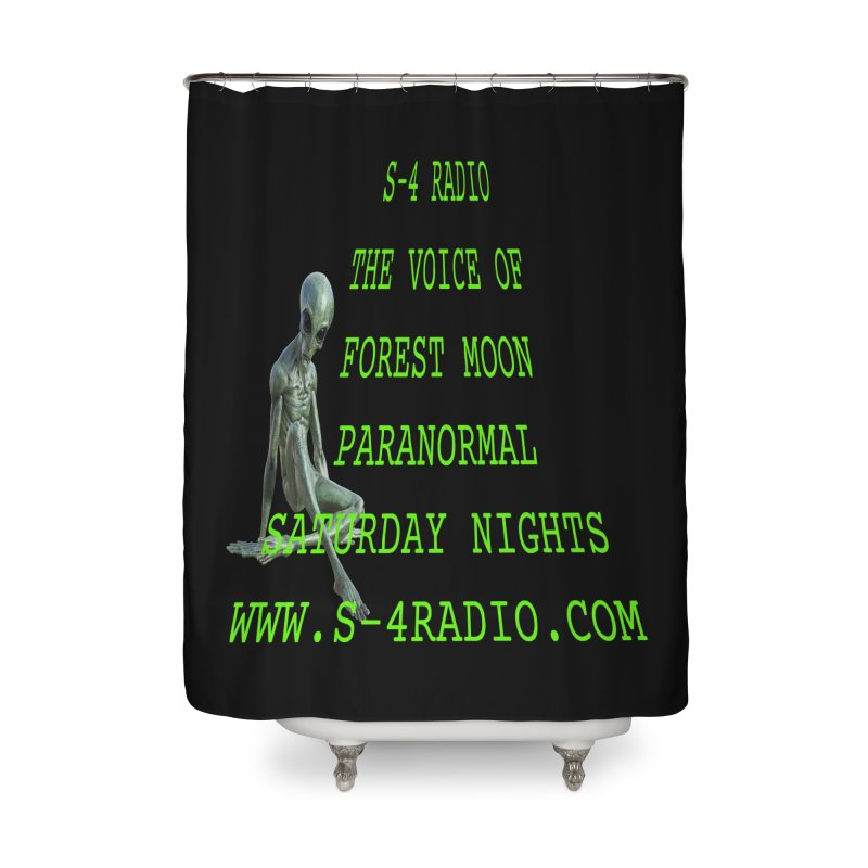 S-4 Radio Home Shower Curtain by forestmoonparanormal's Artist Shop