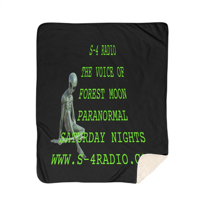 S-4 Radio Home Sherpa Blanket Blanket by forestmoonparanormal's Artist Shop