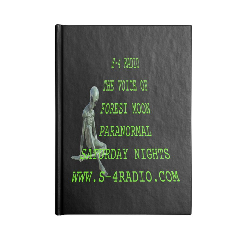S-4 Radio Accessories Blank Journal Notebook by forestmoonparanormal's Artist Shop