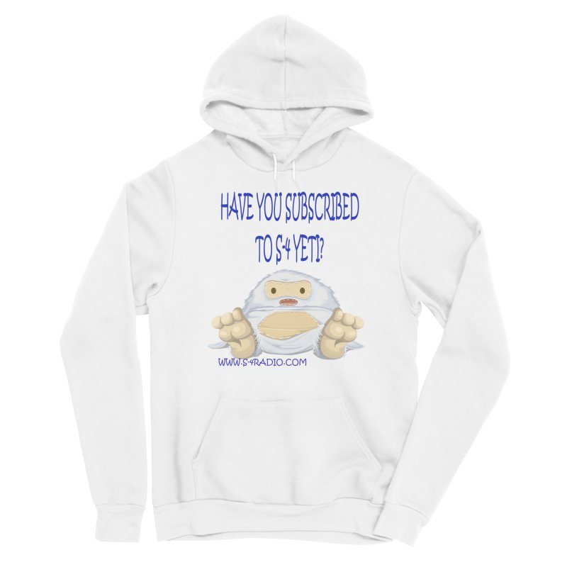 S-4 RADIO YETI Men's Pullover Hoody by forestmoonparanormal's Artist Shop