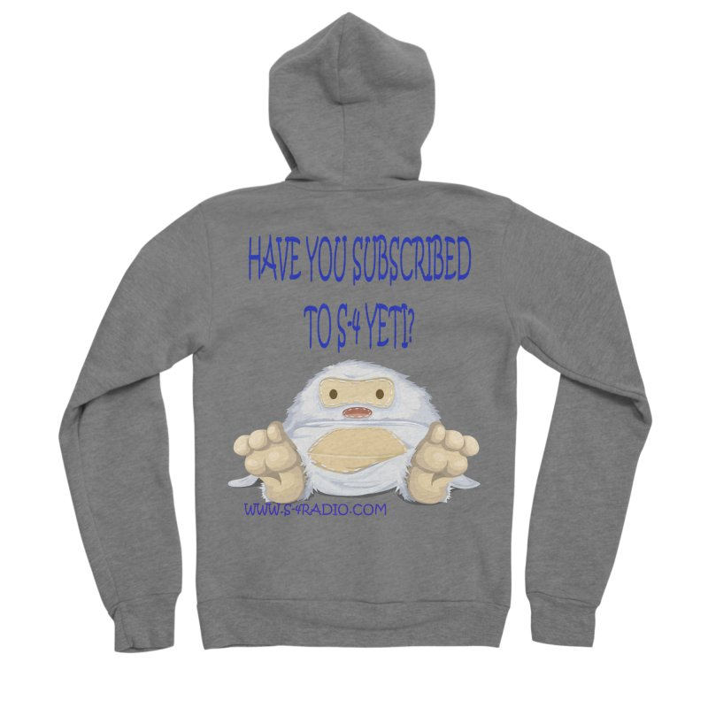 S-4 RADIO YETI Men's Zip-Up Hoody by forestmoonparanormal's Artist Shop