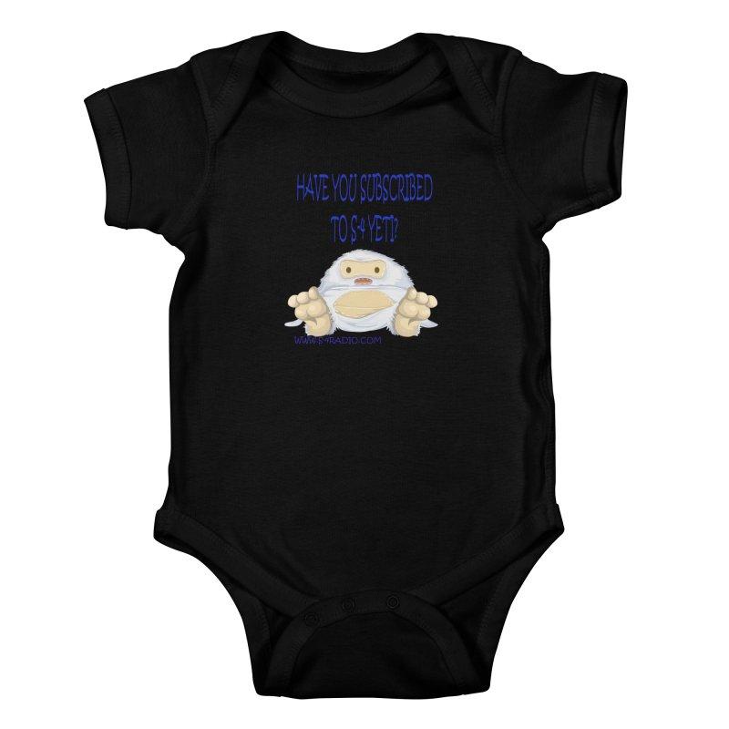 S-4 RADIO YETI Kids Baby Bodysuit by forestmoonparanormal's Artist Shop