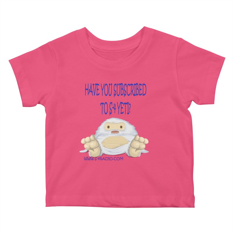 S-4 RADIO YETI Kids Baby T-Shirt by forestmoonparanormal's Artist Shop