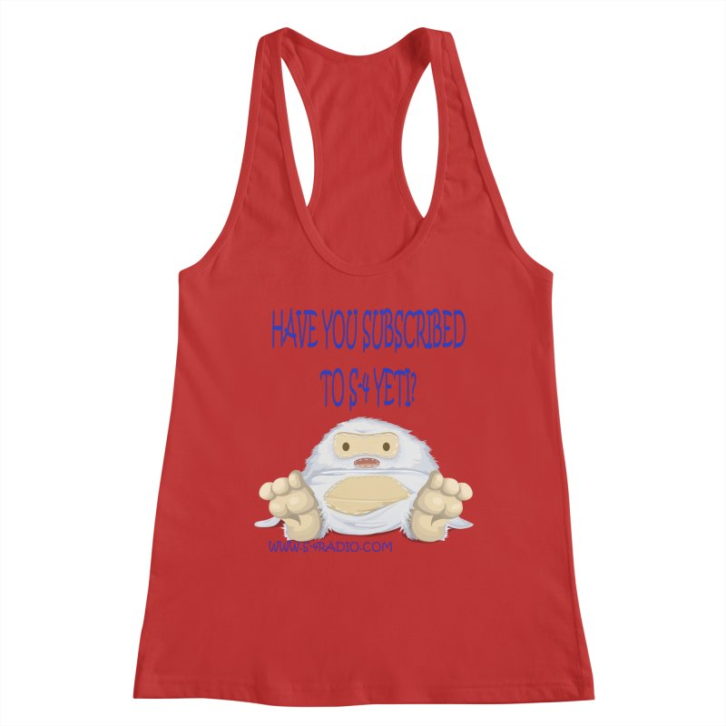 S-4 RADIO YETI Women's Tank by forestmoonparanormal's Artist Shop