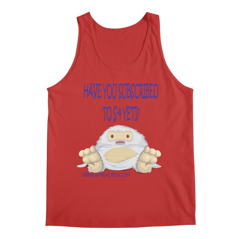 S-4 RADIO YETI Men's Regular Tank by forestmoonparanormal's Artist Shop