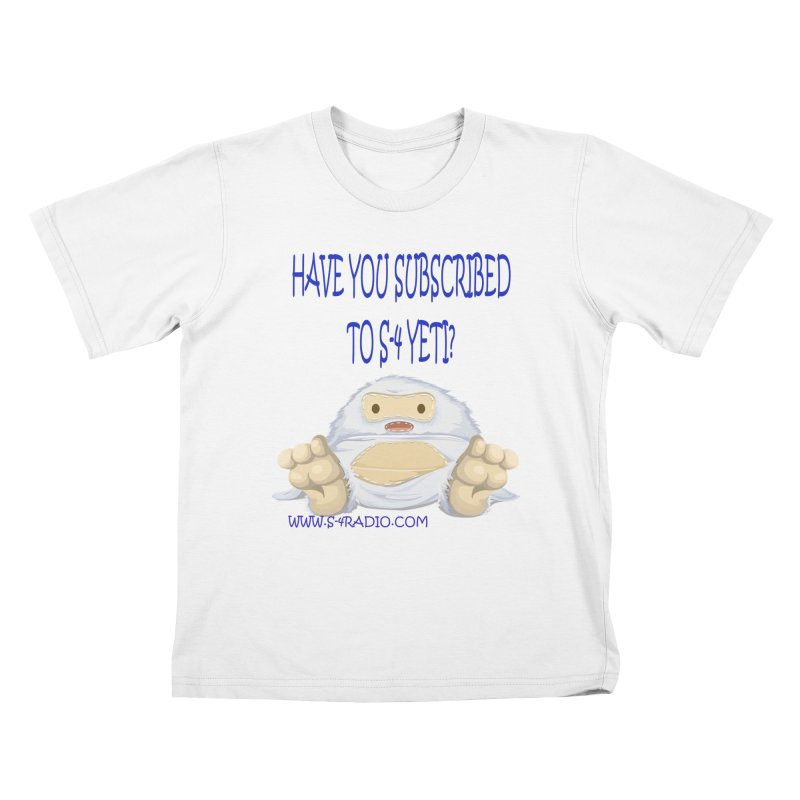 S-4 RADIO YETI Kids T-Shirt by forestmoonparanormal's Artist Shop