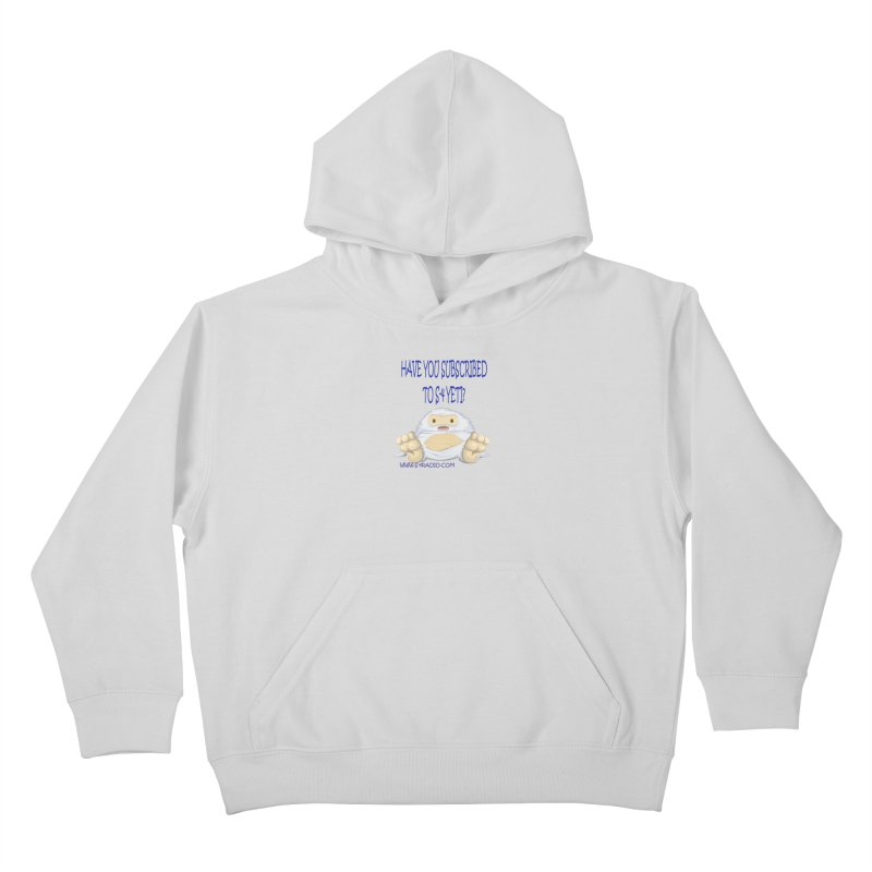 S-4 RADIO YETI Kids Pullover Hoody by forestmoonparanormal's Artist Shop