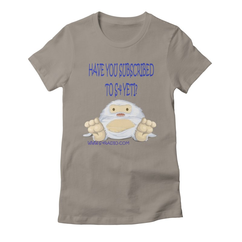 S-4 RADIO YETI Women's T-Shirt by forestmoonparanormal's Artist Shop