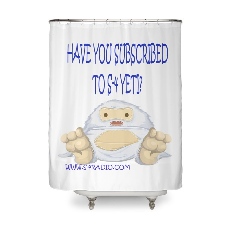 S-4 RADIO YETI Home Shower Curtain by forestmoonparanormal's Artist Shop