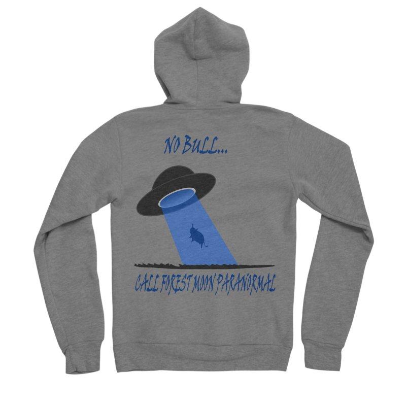 No bull Men's Sponge Fleece Zip-Up Hoody by forestmoonparanormal's Artist Shop