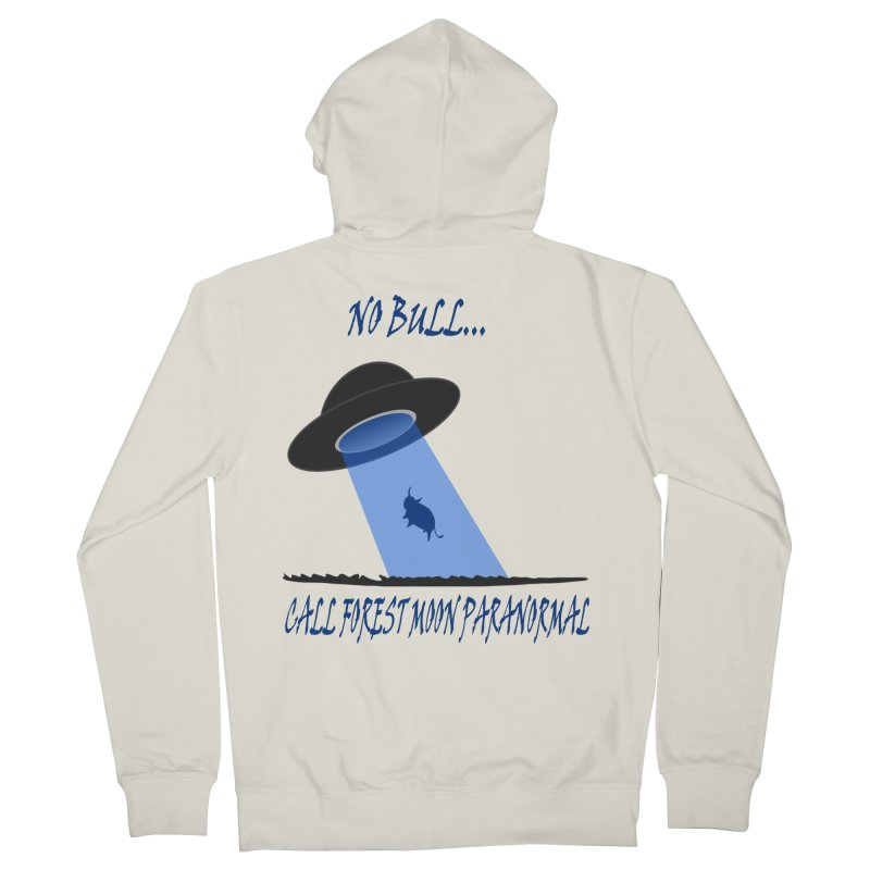 No bull Women's French Terry Zip-Up Hoody by forestmoonparanormal's Artist Shop