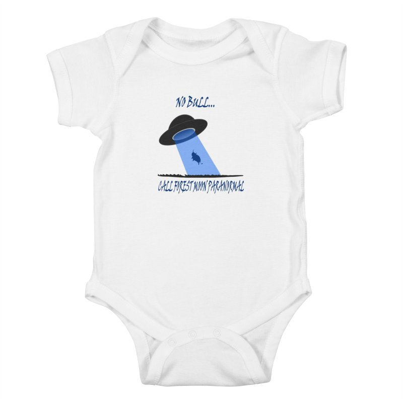 No bull Kids Baby Bodysuit by forestmoonparanormal's Artist Shop