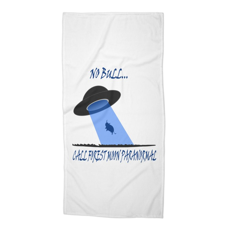 No bull Accessories Beach Towel by forestmoonparanormal's Artist Shop