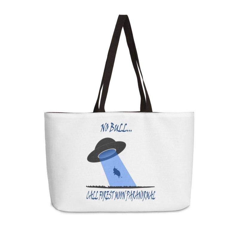 No bull Accessories Weekender Bag Bag by forestmoonparanormal's Artist Shop