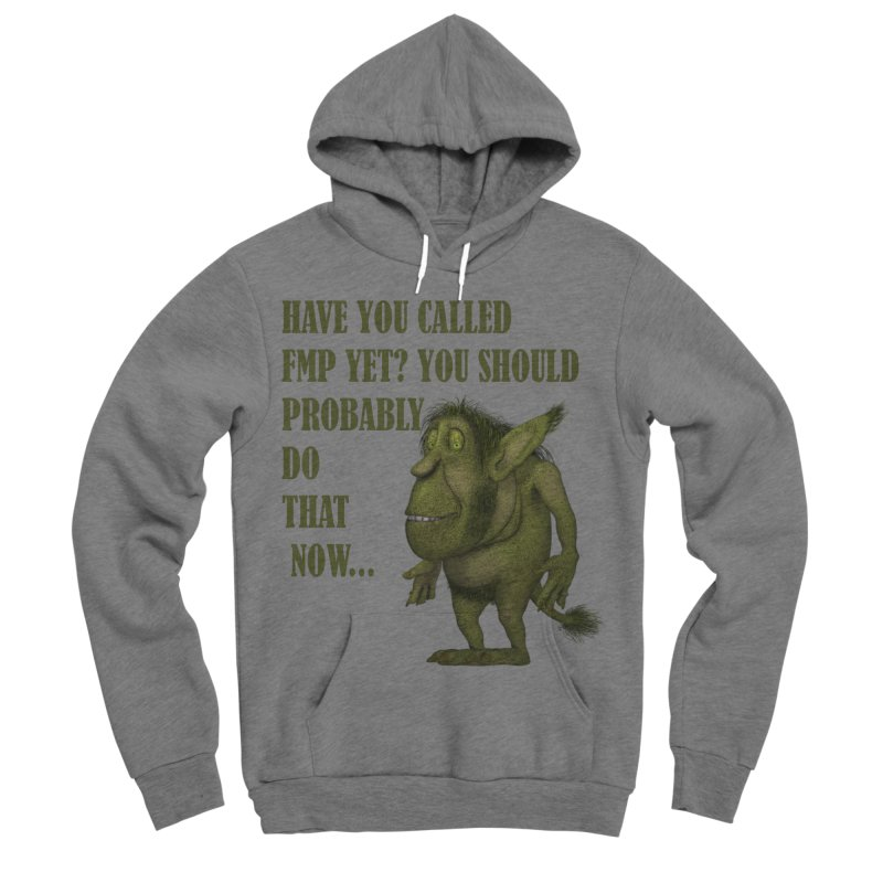 Call FMP now Men's Sponge Fleece Pullover Hoody by forestmoonparanormal's Artist Shop