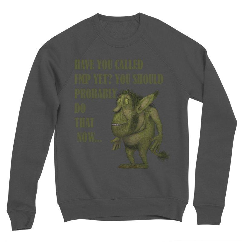 Call FMP now Men's Sponge Fleece Sweatshirt by forestmoonparanormal's Artist Shop