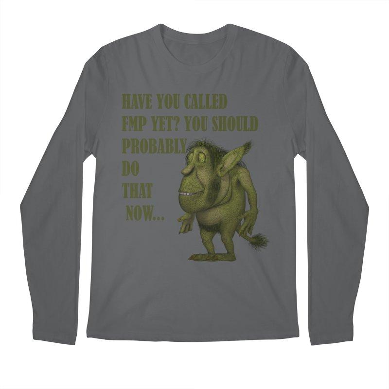 Call FMP now Men's Regular Longsleeve T-Shirt by forestmoonparanormal's Artist Shop