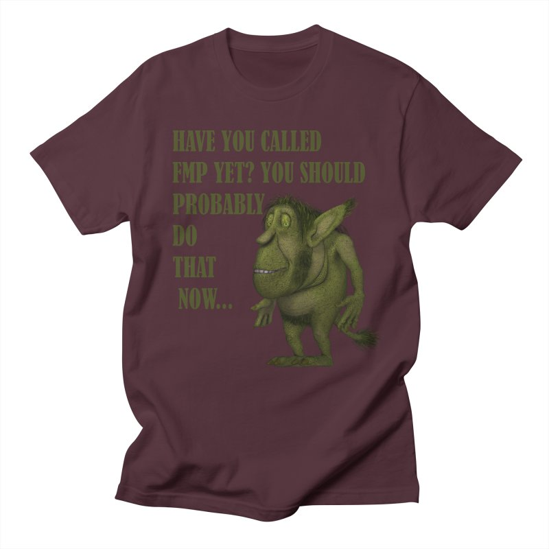 Call FMP now Men's T-Shirt by forestmoonparanormal's Artist Shop