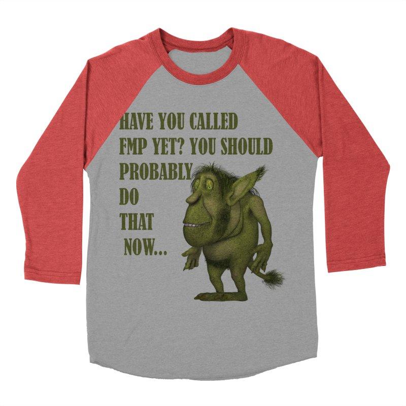 Call FMP now Men's Baseball Triblend Longsleeve T-Shirt by forestmoonparanormal's Artist Shop