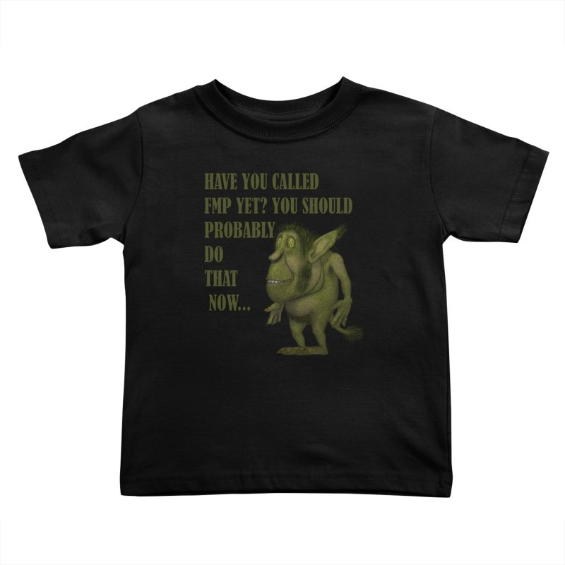 Call FMP now Kids Toddler T-Shirt by forestmoonparanormal's Artist Shop
