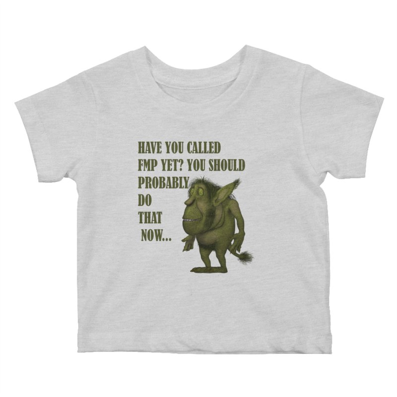 Call FMP now Kids Baby T-Shirt by forestmoonparanormal's Artist Shop