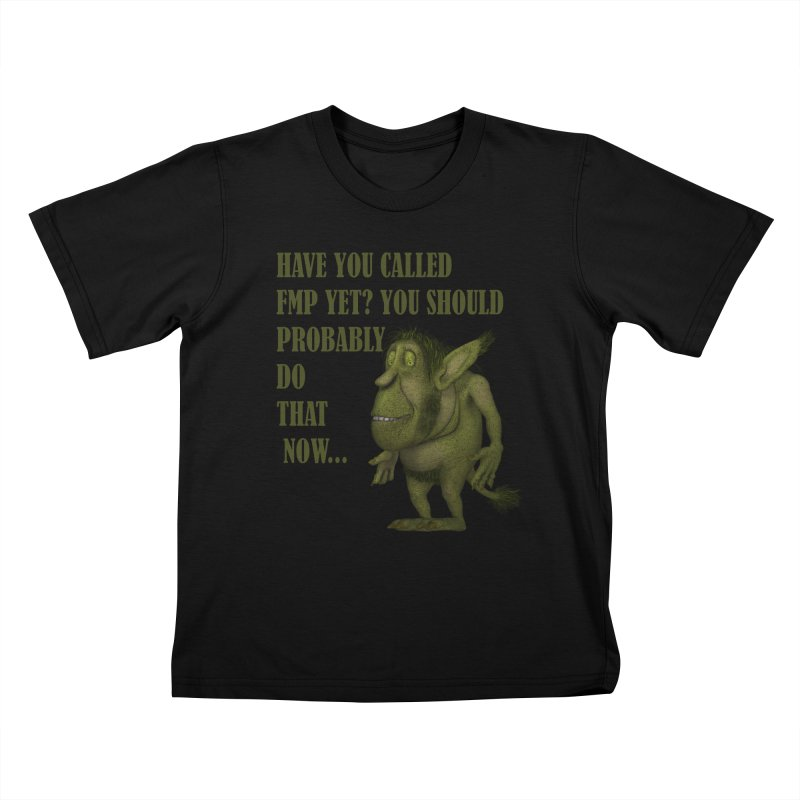 Call FMP now Kids T-Shirt by forestmoonparanormal's Artist Shop