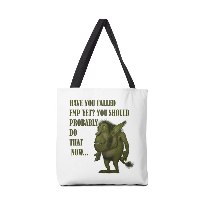 Call FMP now Accessories Tote Bag Bag by forestmoonparanormal's Artist Shop