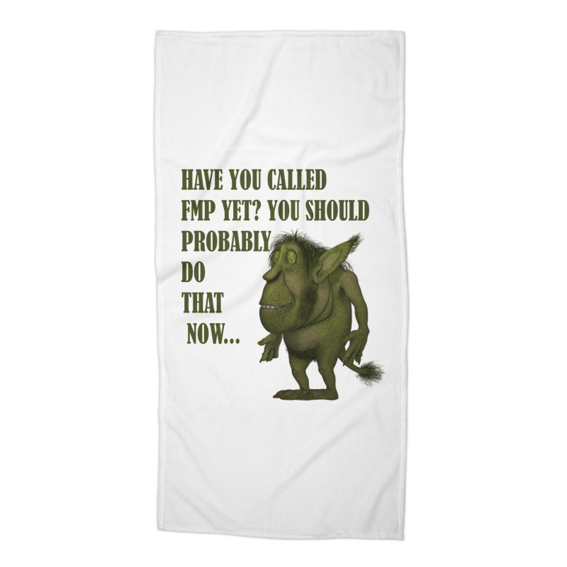 Call FMP now Accessories Beach Towel by forestmoonparanormal's Artist Shop