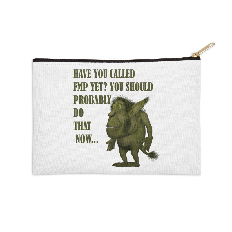 Call FMP now Accessories Zip Pouch by forestmoonparanormal's Artist Shop
