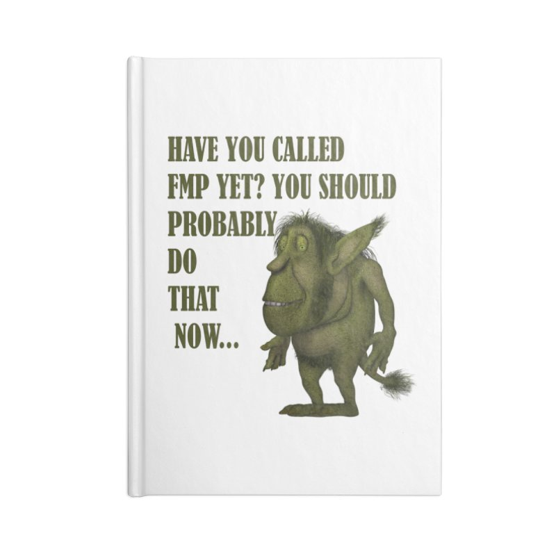 Call FMP now Accessories Notebook by forestmoonparanormal's Artist Shop