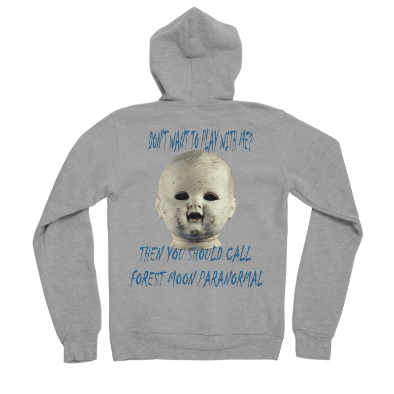Play with Me Women's Sponge Fleece Zip-Up Hoody by forestmoonparanormal's Artist Shop