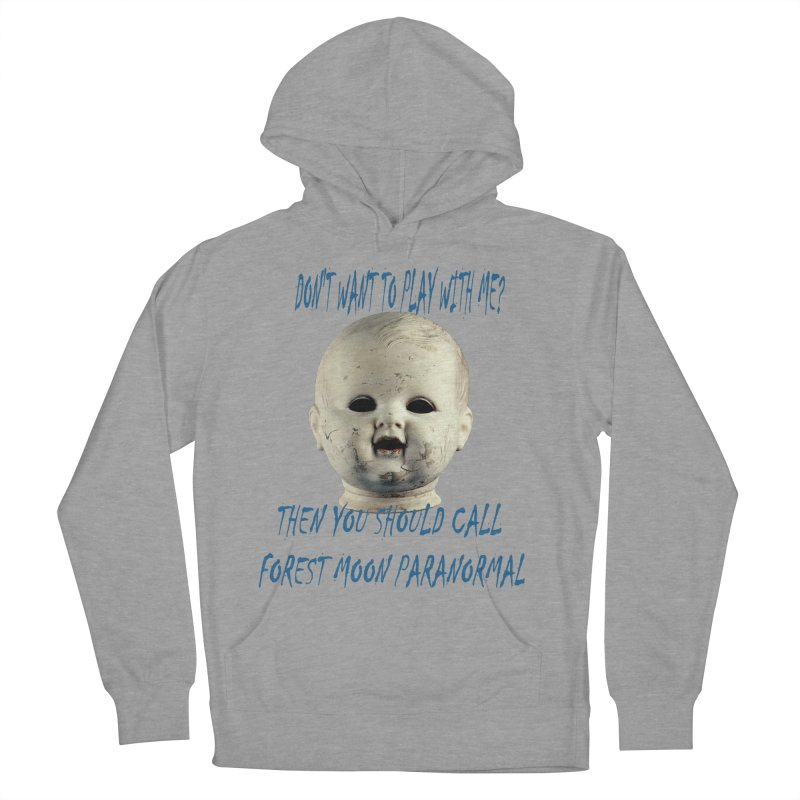 Play with Me Men's French Terry Pullover Hoody by forestmoonparanormal's Artist Shop