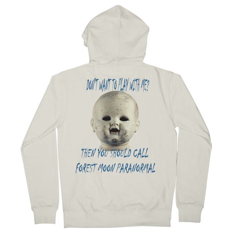 Play with Me Women's French Terry Zip-Up Hoody by forestmoonparanormal's Artist Shop