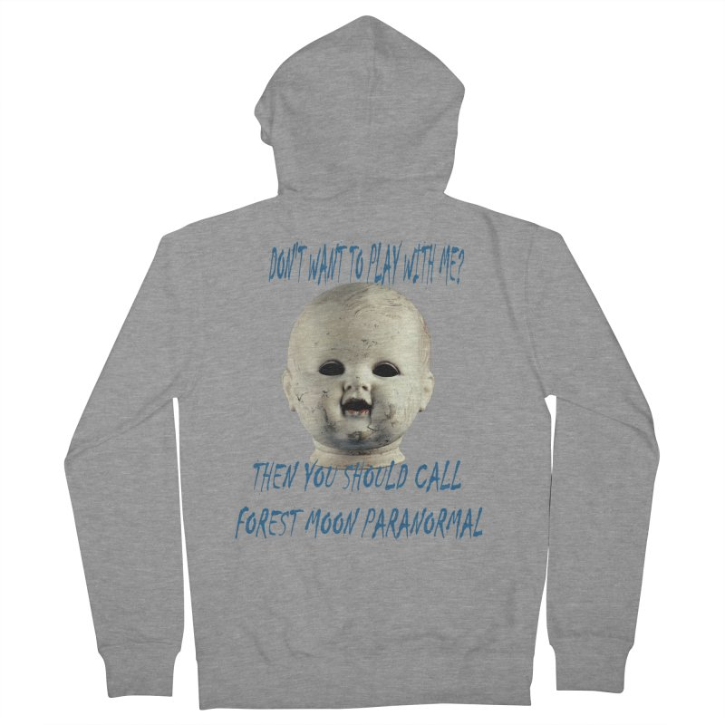 Play with Me Men's French Terry Zip-Up Hoody by forestmoonparanormal's Artist Shop