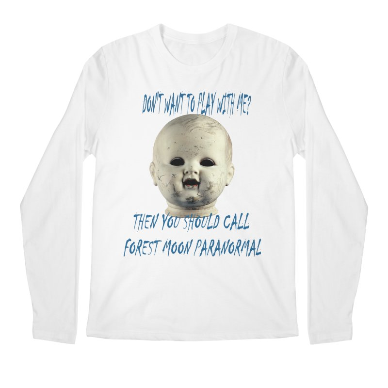Play with Me Men's Regular Longsleeve T-Shirt by forestmoonparanormal's Artist Shop