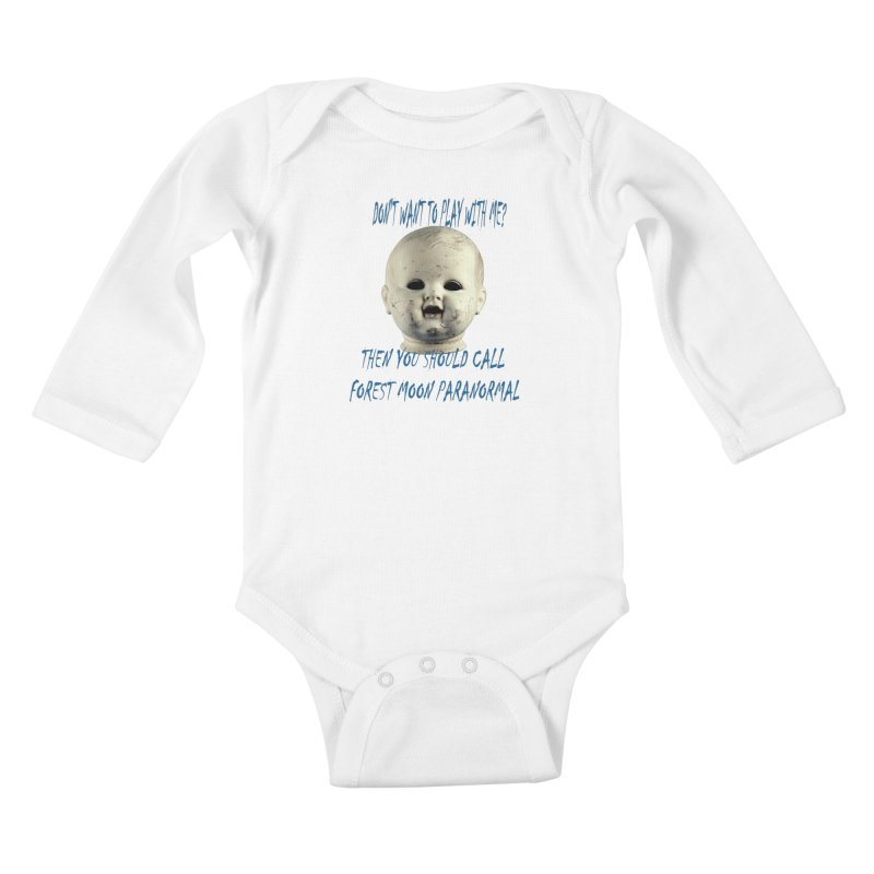 Play with Me Kids Baby Longsleeve Bodysuit by forestmoonparanormal's Artist Shop