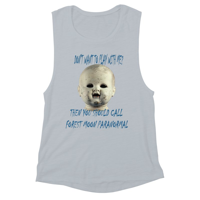 Play with Me Women's Muscle Tank by forestmoonparanormal's Artist Shop