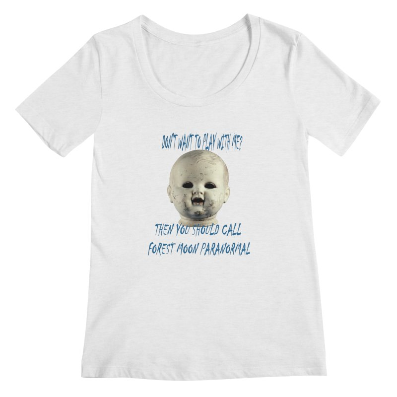 Play with Me Women's Regular Scoop Neck by forestmoonparanormal's Artist Shop