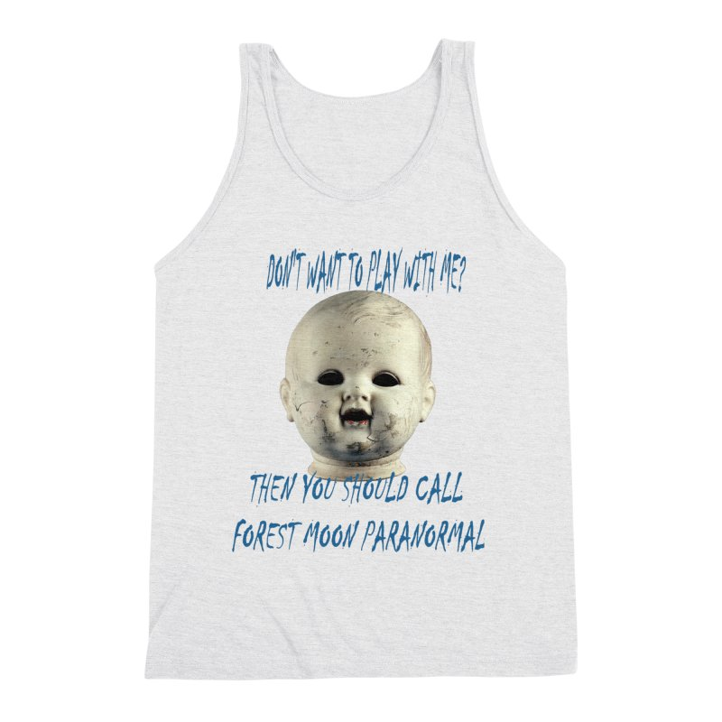 Play with Me Men's Triblend Tank by forestmoonparanormal's Artist Shop