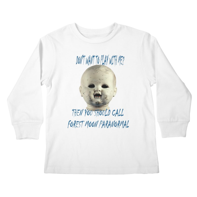 Play with Me Kids Longsleeve T-Shirt by forestmoonparanormal's Artist Shop