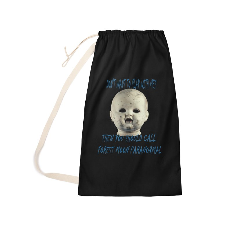 Play with Me Accessories Laundry Bag Bag by forestmoonparanormal's Artist Shop